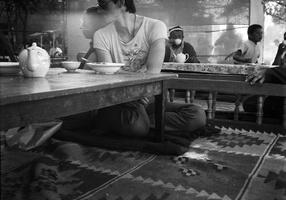 30 arbatinė, Alvidas, Lina
