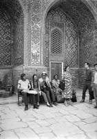 30 Samarkandas, mozaikos, Alvidas, Lina. vadas