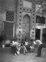 32 Samarkandas, prie Timūro kapo