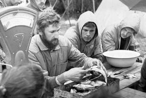 Vytas Vizgirda, Darius Duoba skrodžia žuvį