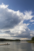Trakai, irklavimo bazė, Galvės ežeras