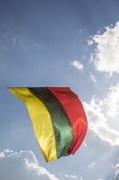 Trakai, vėliava ant aitvaro