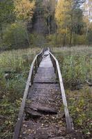 Molėtai · Želvos ežeras, tiltelis, ruduo 2297