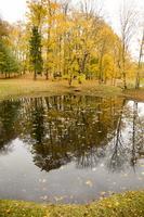 Alantos dvaro parkas · tvenkinys, ruduo 2315