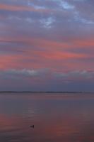 Juodkrantė · marios, saulėlydis, debesys 2549