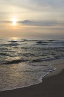 Juodkrantė · jūra, debesys, saulėlydis 2746