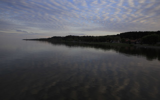 Juodkrantė · marios, debesys 2866