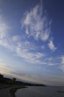 Juodkrantė · marių krantinė, debesys, vakaras 3339