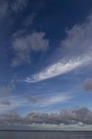 Juodkrantė · marios, debesys 3351