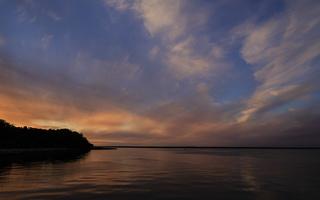 Juodkrantė · marios debesys, saulėlydis 3392