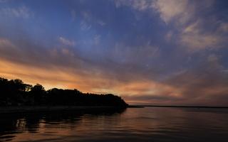 Juodkrantė · marios debesys, saulėlydis 3393