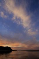Juodkrantė · marios debesys, saulėlydis 3395