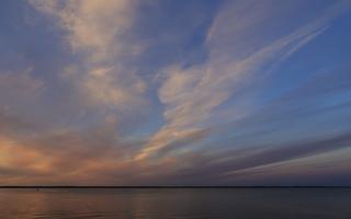 Juodkrantė · marios debesys, saulėlydis 3398