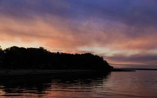 Juodkrantė · marios debesys, saulėlydis 3401