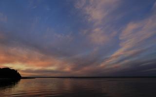Juodkrantė · marios debesys, saulėlydis 3405