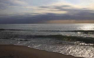 Juodkrantė · jūra, debesys 3511