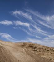 Juodkrantė · kopa, plunksniniai debesys 3515