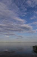 Juodkrantė · marios, debesys, vakaras 3524