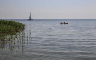 Juodkrantė · marios, jachta, burės, baidarė 3542