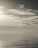 Juodkrantė · rami jūra, debesys 0589