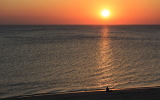 Juodkrantė · jūra, saulėlydis 0697