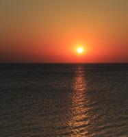 Juodkrantė · jūra, saulėlydis 0698