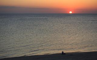 Juodkrantė · jūra, saulėlydis 0701