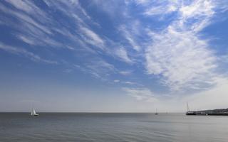 Juodkrantė · marios, debesys 0707