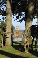 Juodkrantė · Gintaro įlankos nendrinės skulptūros 1222