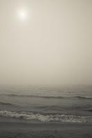 Juodkrantė · jūra, rūkas 1242