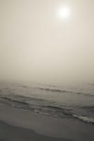 Juodkrantė · jūra, rūkas 1243