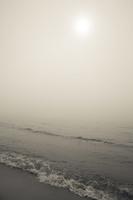Juodkrantė · jūra, rūkas 1244