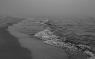 Juodkrantė · jūra, rūkas 1248