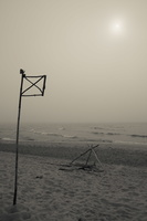 Juodkrantė · jūra, rūkas 1264
