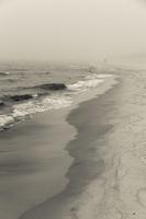 Juodkrantė · jūra, smėlis, rūkas 1296