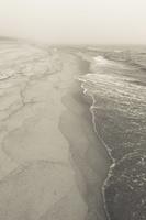 Juodkrantė · jūra, smėlis, rūkas 1304