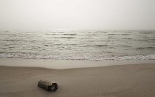 Juodkrantė · jūra, rūkas 1311
