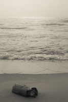 Juodkrantė · jūra, rūkas 1312
