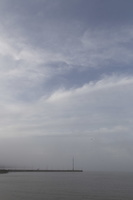 Juodkrantė · marios, debesys 1344