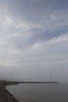 Juodkrantė · marios, krantinė, debesys 1346