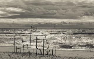 Juodkrantė · jūra, debesys 1446
