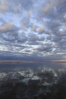 Juodkrantė · marios, debesys, saulėlydis 1515