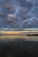 Juodkrantė · marios, debesys, saulėlydis 1517