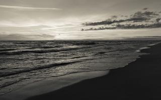 Juodkrantė · jūra, saulėlydis, debesys 1635