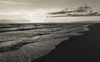 Juodkrantė · jūra, saulėlydis, debesys 1636