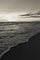 Juodkrantė · jūra, saulėlydis, debesys 1637