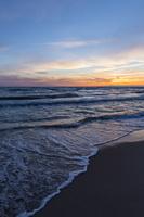 Juodkrantė · jūra, saulėlydis, debesys 1639