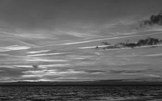 Juodkrantė · jūra, saulėlydis, debesys 1644