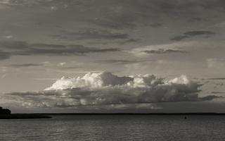 Juodkrantė · marios, debesys 1667