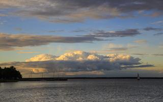 Juodkrantė · marios, debesys 1670